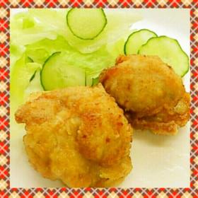 鶏ガラスープの鶏から揚げ